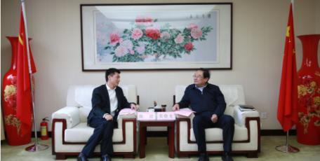 张晓光会见西部机场集团董事长陈波一行