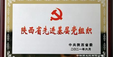 中联西北院党委荣膺陕西省先进基层党组织荣誉称号