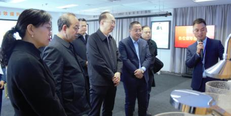 省工信厅党组成员、副厅长赵东赴陕西省中小企业服务中心调研