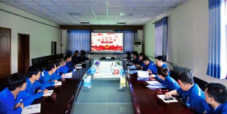 """陕焦公司黄陵煤化工公司:""""以史鉴今话安全,讲师授课到一线""""正式开启"""