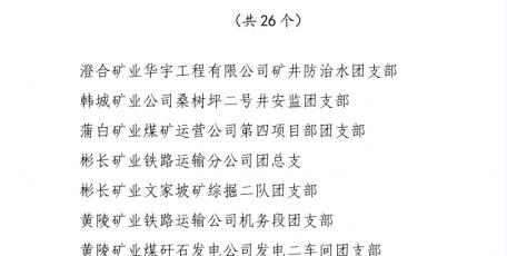 神南产业发展公司搬家中心团总支荣获全煤团指委和陕煤集团五四红旗团支部荣誉称号