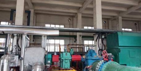 陕焦公司醇氨系统中压饱和蒸汽余压利用项目 投入试运行