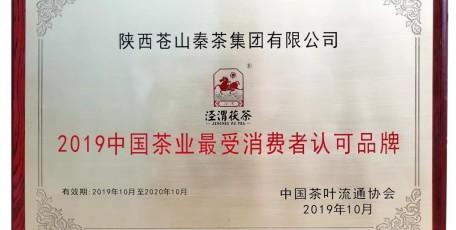 "Tea News丨中国茶业""最受消费者认可品牌""揭晓"