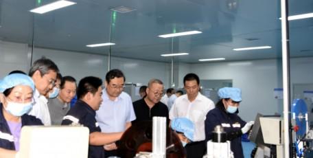 张晓光赴商洛调研重点项目建设并督导稳增长工作