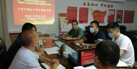 """陕西省企业家协会开展庆""""七•一"""" —— """" 只有中国共产党才能救中国""""主题党日活动"""