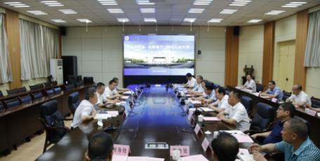 杭海赴西安石油大学调研交流