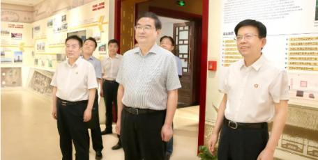 张晓光带队赴陕西建工集团调研