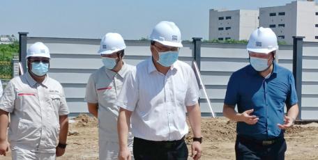 胡义重赴河北保定城改项目调研
