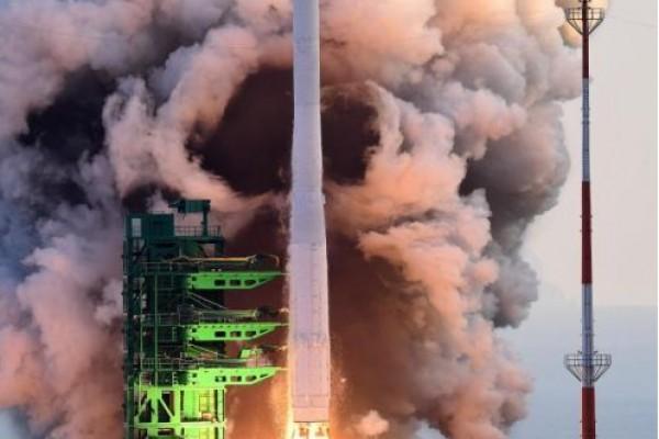 韩国首枚完全自主运载火箭未能将...